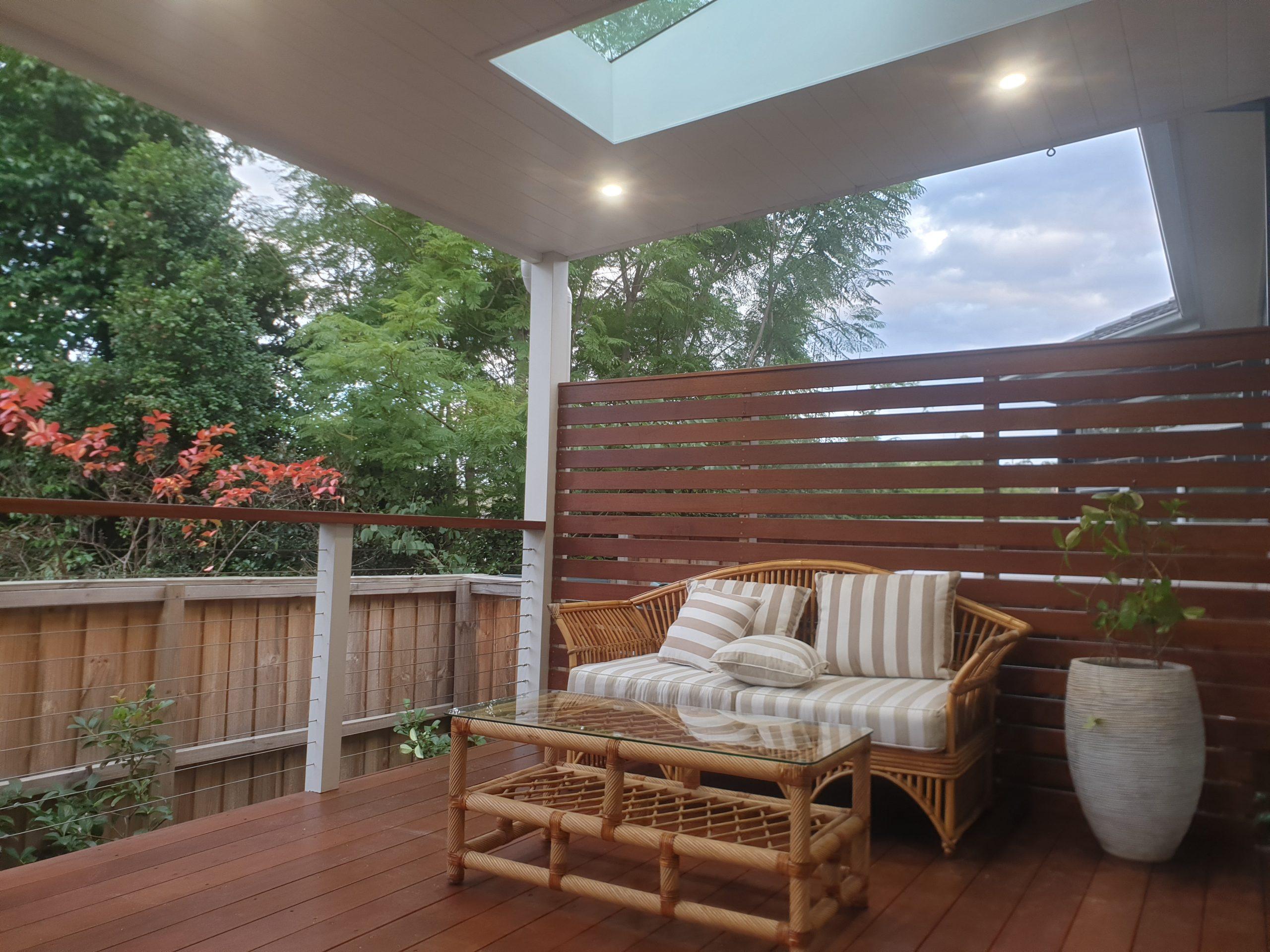Deck at Castle Hill Sydney