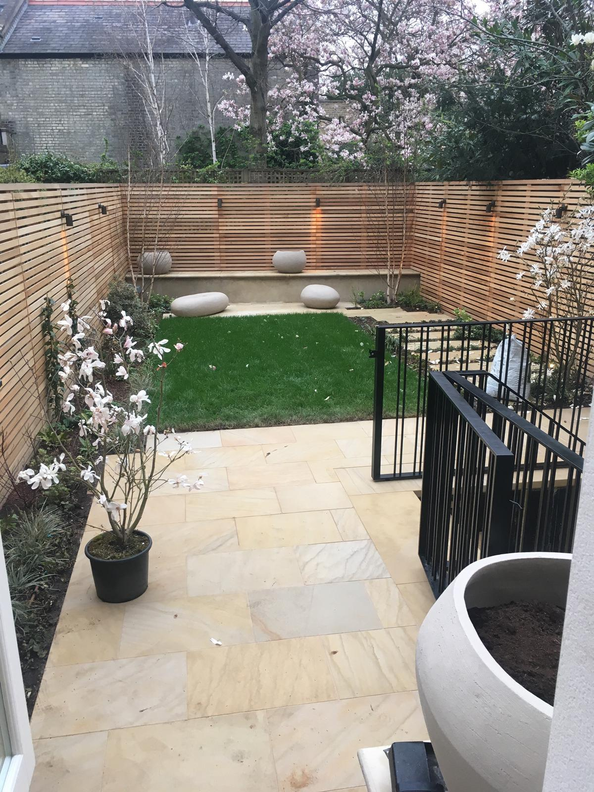 London Deck and Back Yard