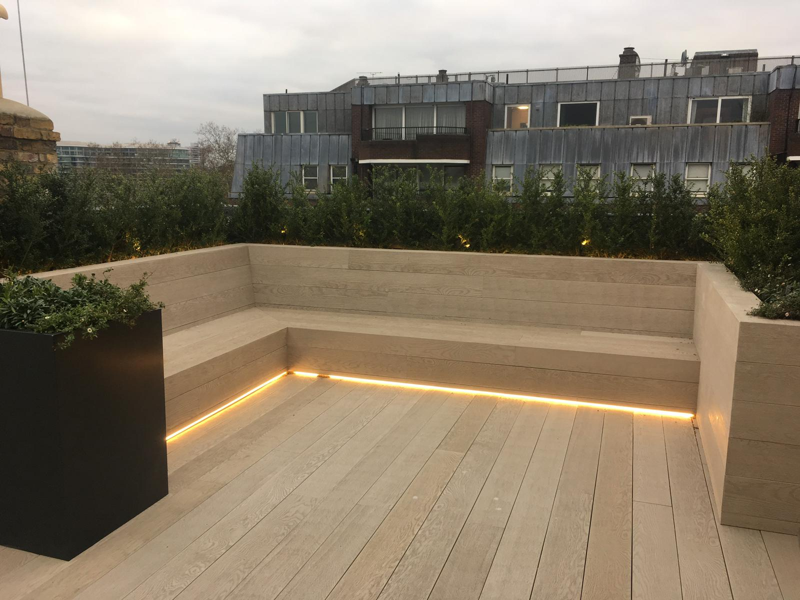 London Deck and Bench Seat